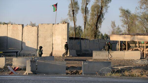 Афганская полиция в Кандагаре