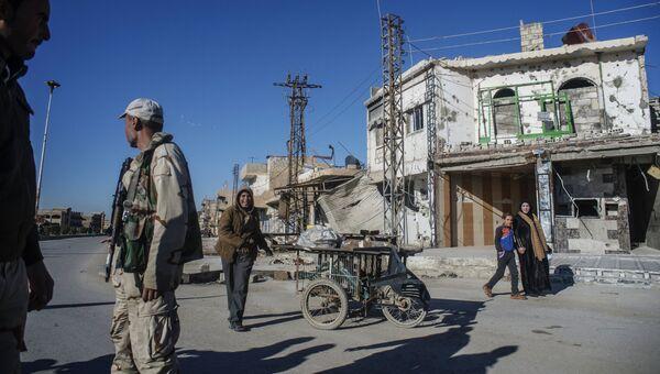 Христианские деревни разрушенные террористами ИГИЛ. Провинция Эль-Хасаке на северо-востоке Сирии. Архивное фото
