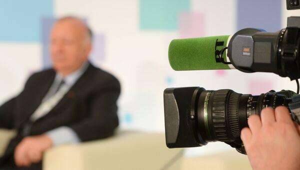 Съемка телеканала RT. Архивное фото