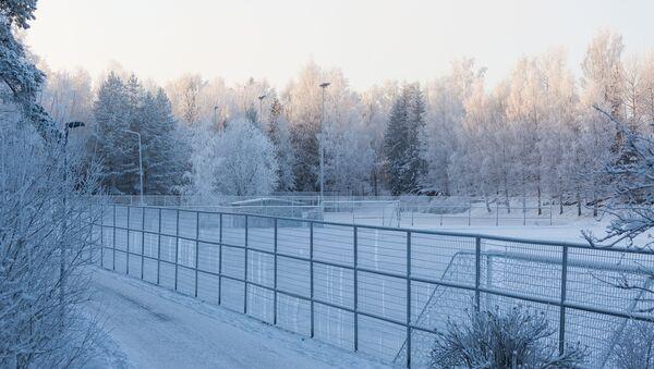Российско-финская граница. Архивное фото