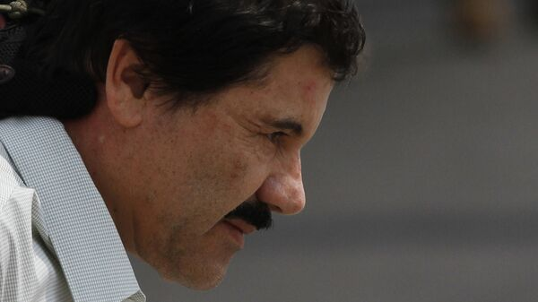 Мексиканский наркобарон Хоакин Гусман Лоэра, Эль Чапо. Архивное фото