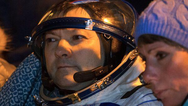 Космонавт основного экипажа 44/45 экспедиции на Международную космическую станцию Олег Кононенко. Архивное фото