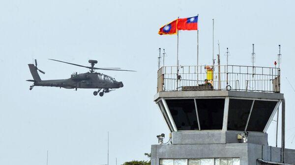 Вертолёт производства США AH-64E Apache ВВС Тайваня