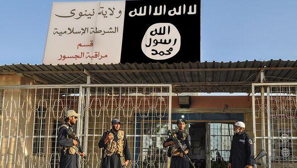 Боевики террористической группировки Исламское государство (ДАИШ). Архивное фото