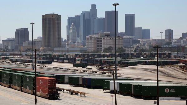 Вид Лос-Анджелеса