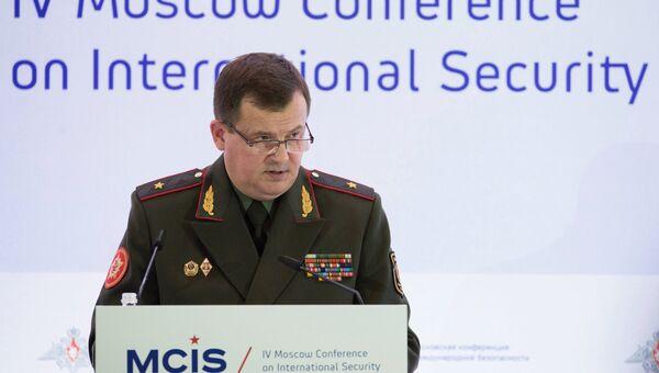 Министр обороны Республики Белоруссия генерал-майор Андрей Равков. Архивное фото
