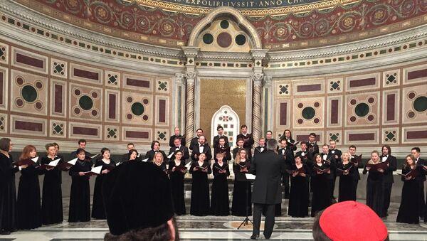 Московский Синодальный хор, архивное фото