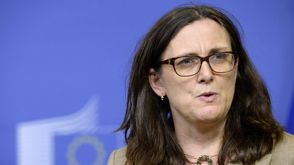 Еврокомиссар по торговле Сесилия Мальмстрем