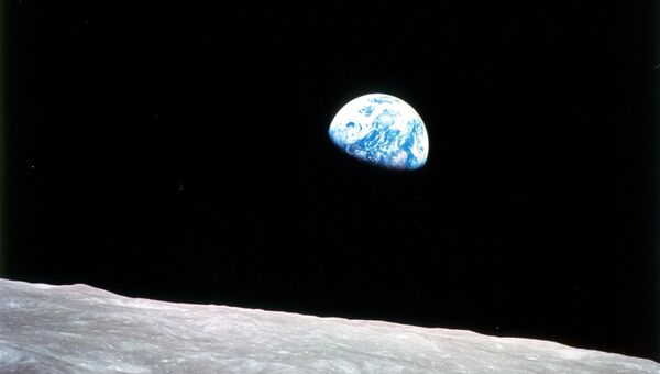 Опубликовано историческое фото Земли из космоса