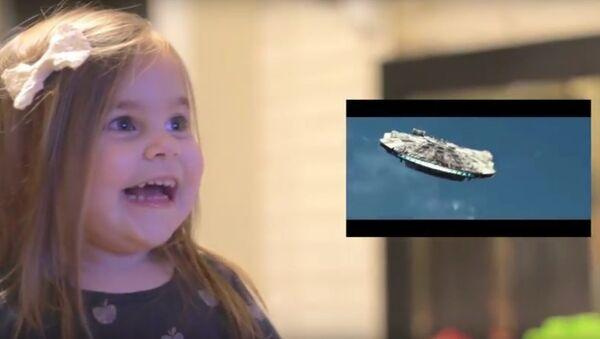 Детская реакция на Звездные войны