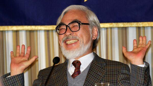 Японский режиссер-аниматор Хаяо Миядзаки