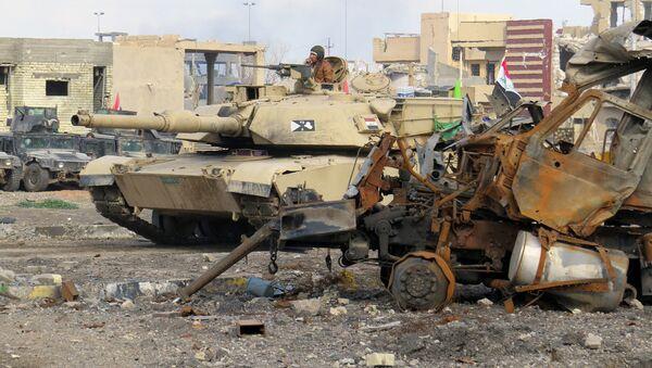 Иракские силы по борьбе с терроризмом продвигаются к Рамади, Ирак. Декабрь 2015