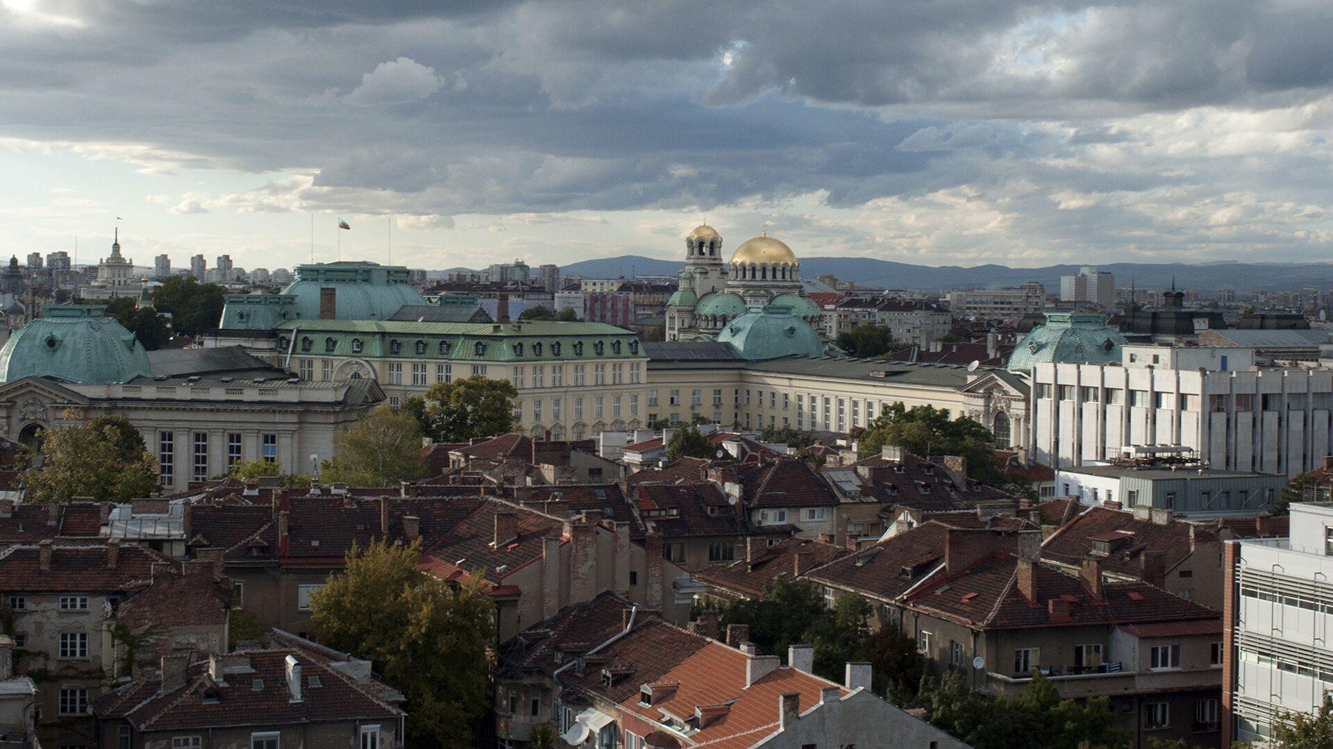Вид на город София, Болгария - РИА Новости, 1920, 22.03.2021