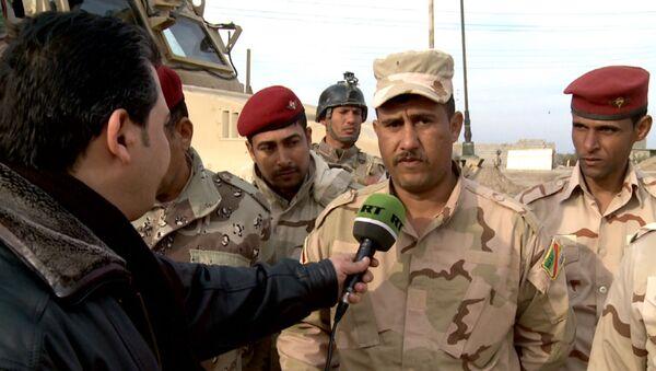 У них грязные методы – иракский сапер о действиях снайперов ИГ в Эр-Рамади