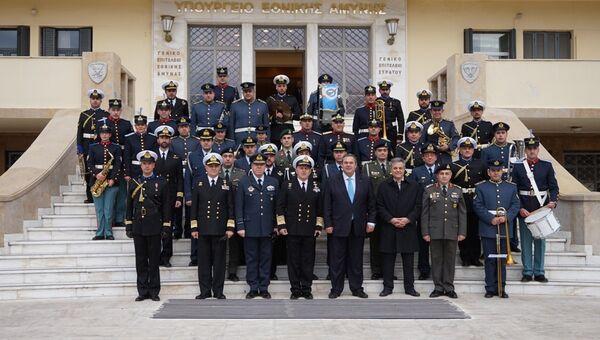 Новогоднее заявление министра обороны Греции Паноса Камменос