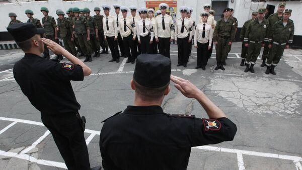 Служба военной полиции. Архивное фото