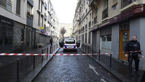 Полицейское оцепление во Франции. Архивное фото