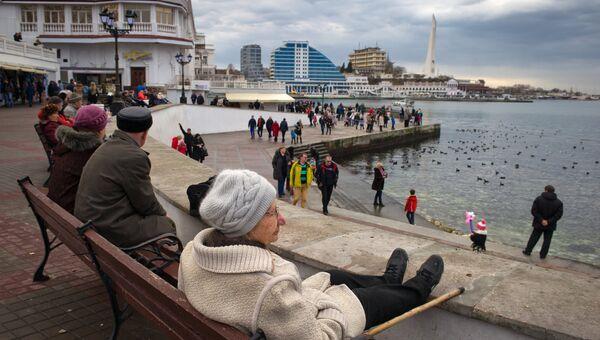 Севастополь. Вид. Архивное фото.