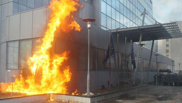 Беспорядки в Приштине, 9 января 2016
