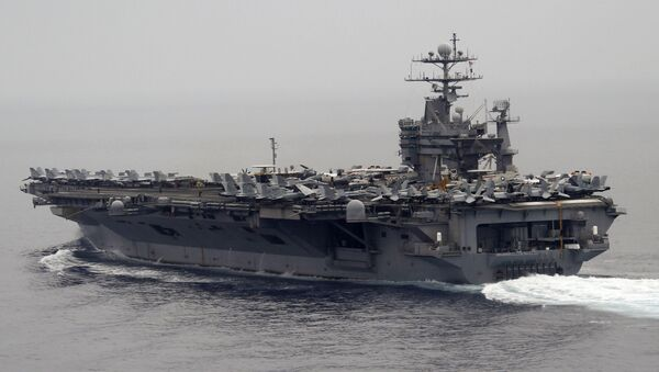 Авианосец ВМС США Гарри Трумен. Архивное фото