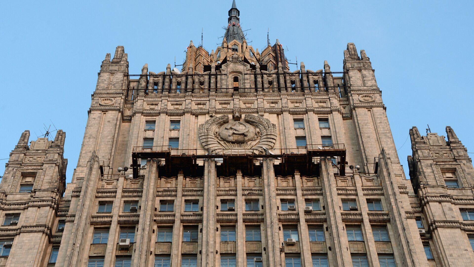 Здание министерства иностранных дел РФ на Смоленской-Сенной площади в Москве - РИА Новости, 1920, 18.12.2020