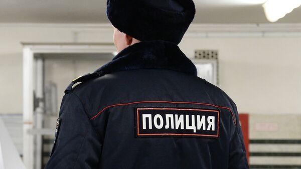 Полицейский. Архивное фото.