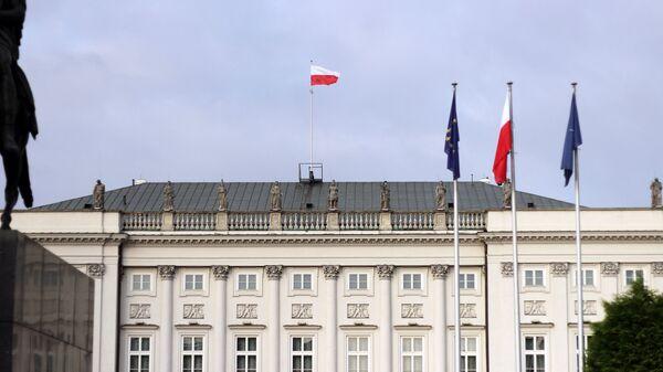 Центр Варшавы. Архивное фото