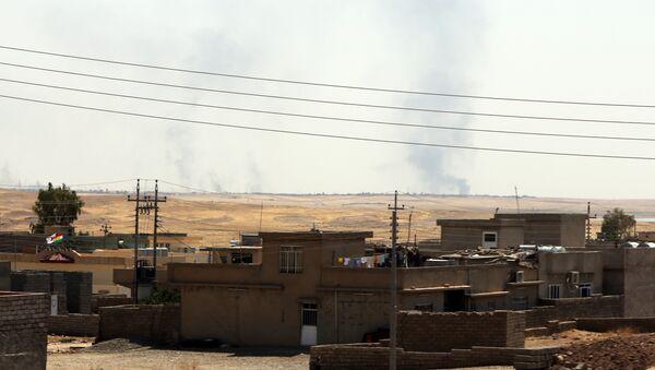 Дым над городом Мосул. Архивное фото