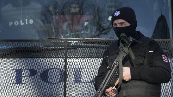 Полиция Турции. Архивное фото