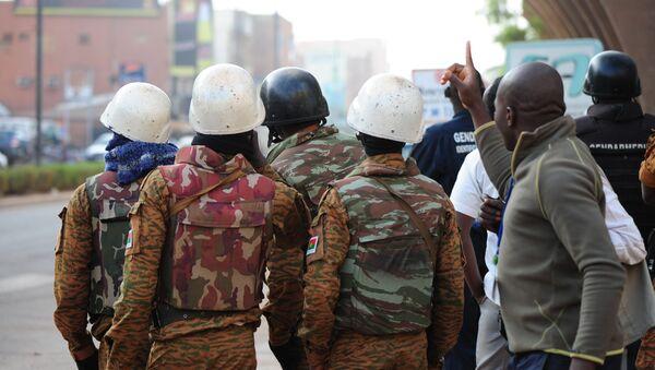 Cилы безопасности Буркина-Фасо. Архивное фото
