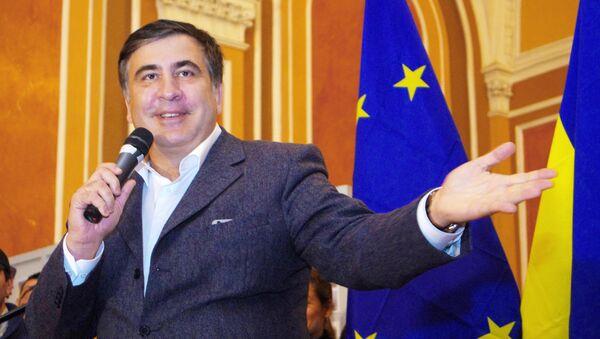 Бывший губернатор Одесской области Михаил Саакашвили. Архивное фото