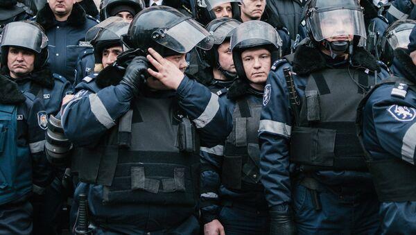 Антиправительственные протесты в Кишиневе. Архивное фото
