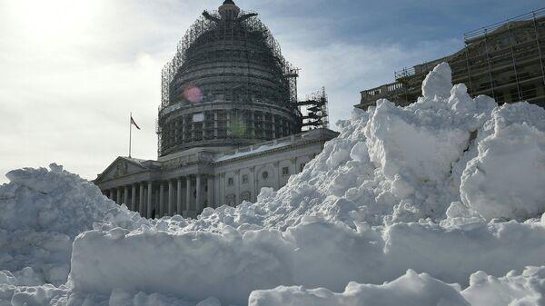 Здание Капитолия в Вашингтоне. Архивное фото