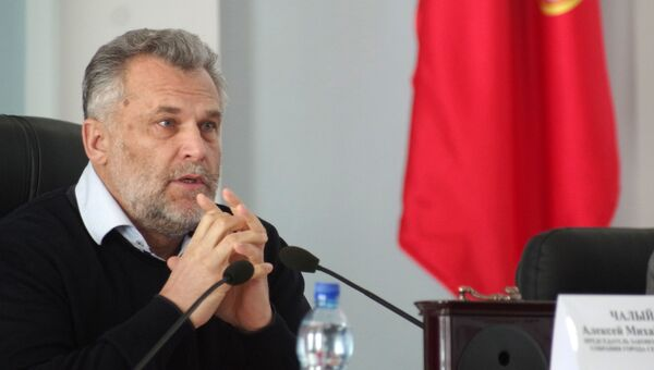Алексей Чалый на заседании Законодательного собрания города Севастополя