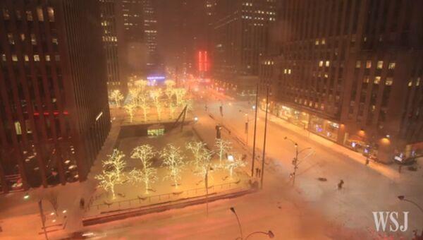 Зимняя сказка в Нью-Йорке