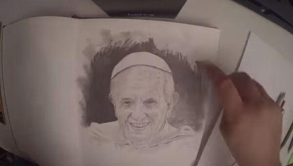 Нарисуй папу римского