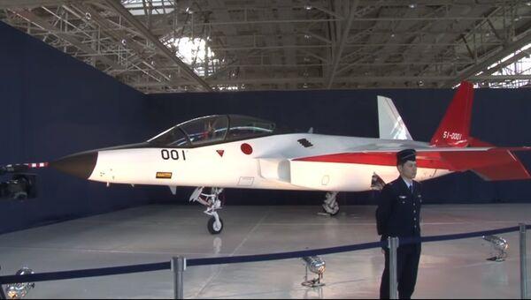 Первый японский истребитель пятого поколения
