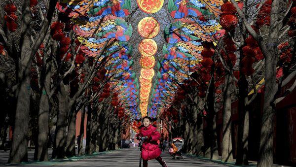 Подготовка к празднованию Китайского Нового года. Архив