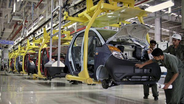 Завод индийской автомобильной компании Tata Motors. Архивное фото