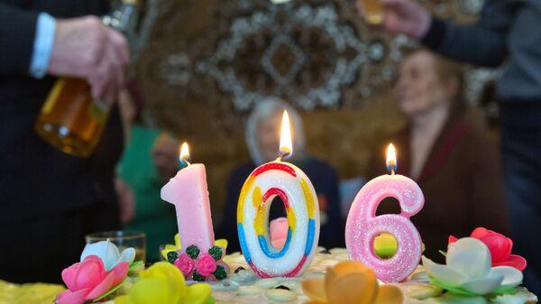 106 лет исполнилось старейшей жительнице Симферопольского района Крыма Агафье Дьячковой