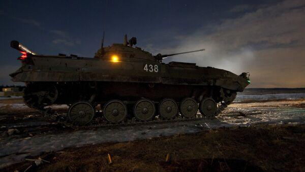 Учения Кантемировской танковой дивизии. Архивное фото