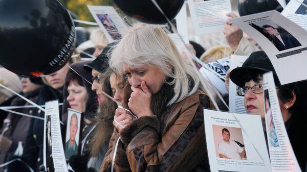 Жители Одессы во время траурных мероприятий у здания Дома профсоюзов. Архивное фото
