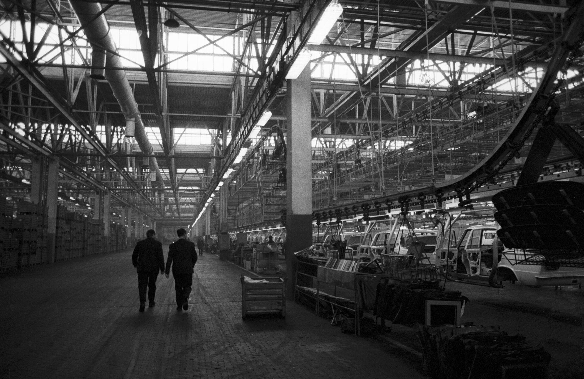 Волжский автомобильный завод (ВАЗ) в городе Тольятти - РИА Новости, 1920, 19.02.2021