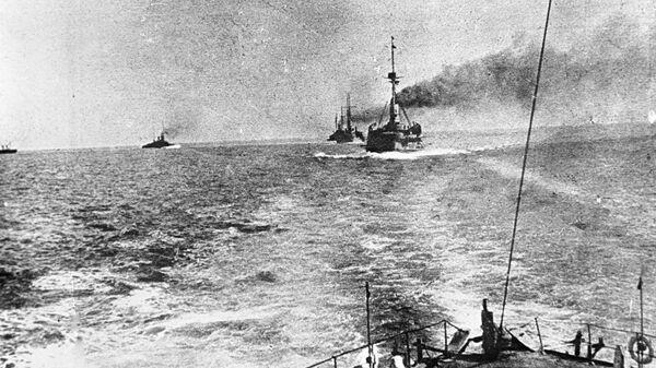 Корабли российского Черноморского флота в боевом походе во время первой мировой войны
