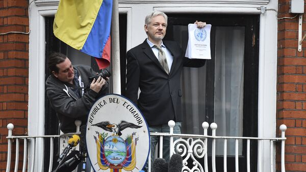 Основатель WikiLeaks Джулиан Ассанж. Архивное фото