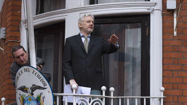 Сооснователь WikiLeaks Джулиан Ассанж. Архивное фото