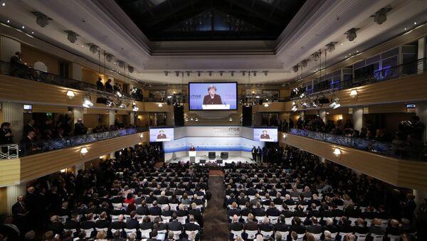 Конференция  в Мюнхене. Архивное фото