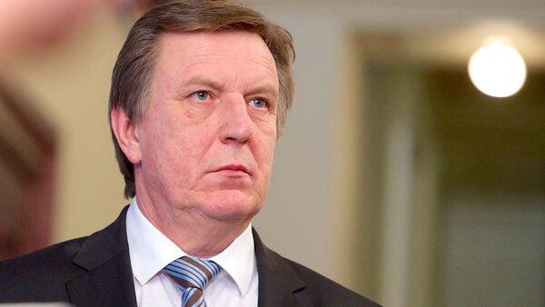 Премьер-министр Латвии Марис Кучинскис. 2016 год