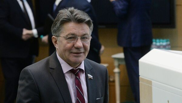Председатель комитета Совета Федерации РФ по обороне и безопасности Виктор Озеров. Архивное фото