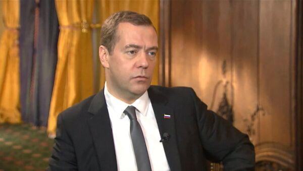 Интервью Медведева телеканалу Euronews: война в Сирии и статус Крыма